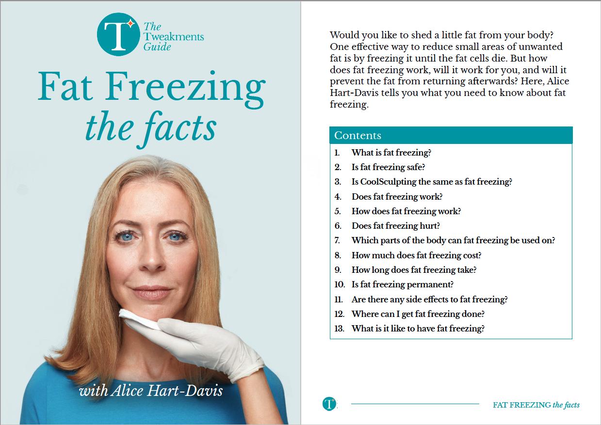 Fat Freezing Factsheet Cover