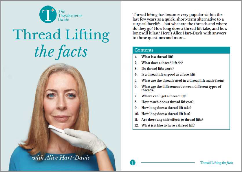 Thread Lifting Factsheet Cover